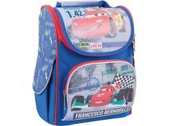 школьный каркасный рюкзак 1 Вересня h-11 cars (553306) для младших классов