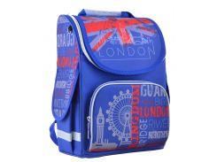 школьный каркасный рюкзак 1 Вересня smart pg-11 london для младших классов (554525)