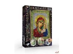набор креативного творчества Алмазная живопись diamond mosaic Икона Пресвятой Богородицы dankotoys dm-01-09
