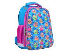школьный каркасный рюкзак 1 Вересня h-12-1 owl Совы (554476)