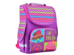 набор школьный каркасный рюкзак 1 Вересня pg-11 sweet dream (554466) с пеналом