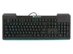 Клавиатура игровая, 8 цветов подсветки, usb