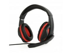 наушники с микрофоном gembird ghs-03 black регулятор громкости