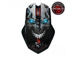 Мышь беспроводная игровая activated bloody (skull), 4000 cpi, light strike