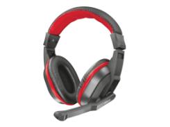 игровая проводная гарнитура trust ziva gaming headset для компьютера (21953)