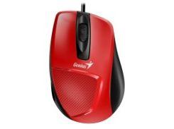 Мышь genius dx-150x usb red/black