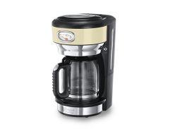 капельная кофеварка russell hobbs 21702-56 бежевая retro vintage cream