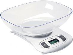 кухонные весы sencor sks4001wh ЖК дисплей