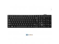 проводная клавиатура defender accent sb-720 usb black (45720)