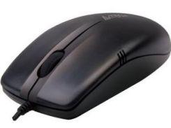 мышь проводная a4 tech op-530 nu usb black