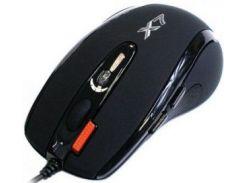 мышь игровая a4 tech x-710 bk usb black