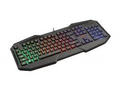 дротова клавіатура для геймерів trust gxt 830-rw avonn led black (22511)