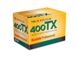 профессиональная черно-белая фотоплёнка kodak tri-x 400 tx 120x5 5 штук (1153659)