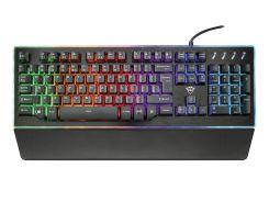 напівмеханічні клавіатура світлодіодна trust gxt 860 thura semi-mechanical black (21839)