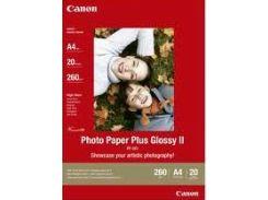 глянцевая фотобумага canon a4 pp-201 photo paper plus glossy, 20 листов (2311b019)