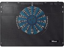 охлаждающая подставка для ноутбука trust frio laptop cooling stand with big fan (19930)
