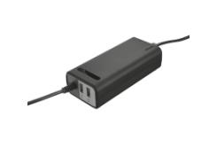 адаптер питания для ноутбука trust duo 90w laptop charger с 2 usb портами (20878)