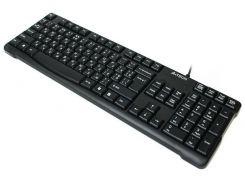 проводная клавиатура a4 tech kr-750 usb black comfort key