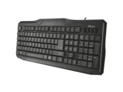 проводная клавиатура trust classicline keyboard (20637)