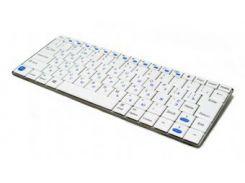 беспроводная клавиатура gembird kb-p6-bt-w-ua white bluetooth