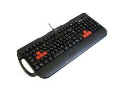 игровая клавиатура a4 tech x7-g700 ps/2 black gaming