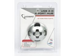 Хаб uhb-ct04 на 4 порта usb 2.0, полусферической формы, блистер