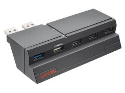 концентратор usb 3.0 trust gxt 215 для ps4 hub (19866)