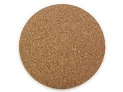 коврик для мышки gembird mp-n3 пробковый, круглый
