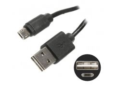 кабель usb 2.0 cablexpert cc-musb2d2-1m a-папа/micro b-папа два двусторонних разъема