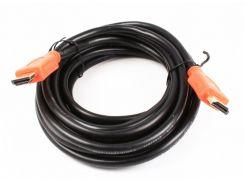кабель cablexpert cc-hdmi4l-15 hdmi v.1.4 с позолоч. коннек., 4.5м