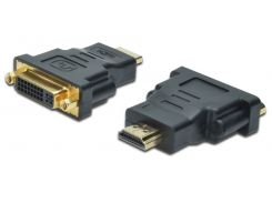 Адаптер assmann hdmi to dvi-i(24+5), black