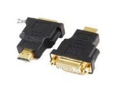 адаптер cablexpert a-hdmi-dvi-3 hdmi-dvi, f/m позолоченные контакты
