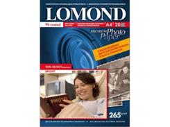 полуглянцевая фотобумага lomond двухсторонняя 265 гр/м a3*20 листов (1106302)