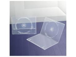 Бокс для 1-dvd диска 7 мм СУПЕР прозрачный глянцевый (1dvd-7mm super)
