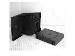 Бокс для 12-dvd дисков черный 39мм (12dvd-black39mm)