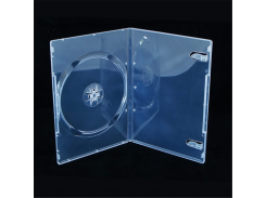 Бокс для 1-dvd диска 9 мм СУПЕР прозр.глян. (1-dvd 9 мм СУПЕР прозрачный глянцевый)