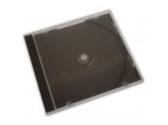 Бокс для 1-cd диска с черным треем (1cd-black)