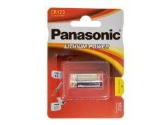 Батарейка panasonic cr 123 bli 1 lithium
