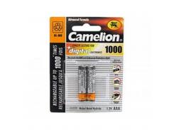 аккумуляторы camelion r 03/2bl 1000 mah ni-mh (nh-aaa1000bp2)