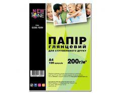 фотобумага newtone глянцевая 200г/м кв, a4, 100л (g200.100n)