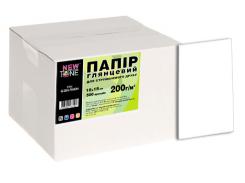 фотобумага newtone глянцевая 200г/м кв, 10см x 15см, 500л (g200.f500n)