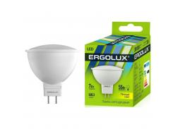Ergolux led-jcdr 7w-gu5.3-3k warm 12158 (led-jcdr-7w-gu5.3-3k)