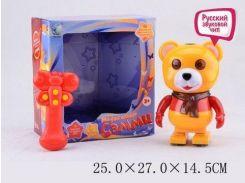 радиоуправляемая музыкальная игрушка Мышонок Рикки 2083 свет, русс. звук. чип, рассказ. истор., в коробке 25х27х14