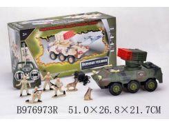радиоуправляемый танк 8012b с солдатами,муз.свет.коробке51*26,8*21,7