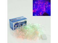 новогодняя гирлянда светодиодная 01227 9 метров 288 разноцветных лампочек