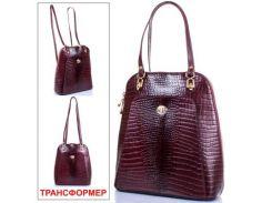 Женская кожаная сумка-рюкзак desisan (ДЕСИСАН) shi3132-588