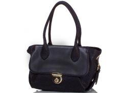 Женская сумка из качественного кожезаменителя anna&li (АННА И ЛИ) tu14118l-black