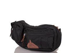 Мужская сумка через плечо onepolar (ВАНПОЛАР) w3015-black