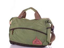 Мужская спортивная сумка через плечо onepolar (ВАНПОЛАР) w5266-green