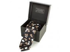Мужской узкий шелковый галстук eterno (ЭТЕРНО) eg628